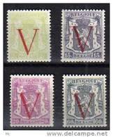 Belgique N° 670 / 673 Luxe ** - Belgique