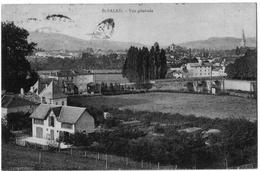 Saint Palais Pyrénées Atlantiques Vue Générale 1925 état Superbe - Saint Palais