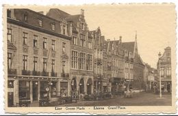CPA PK  LIER  GROOTE MARKT   LIERRE GRAND'PLACE - Belgique