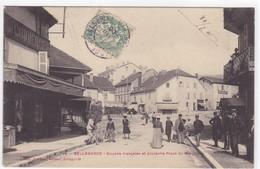 Ain - Bellegarde - Douane Française Et Ancienne Place Du Marché - Bellegarde-sur-Valserine