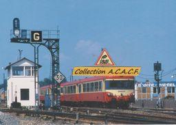 Autorails EAD X 4500, Au Départ De Beauvais (60) - - Trains