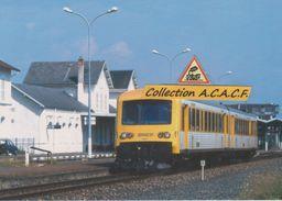 """Autorail EAD X 4652 """"TER Bourgogne"""", Au Départ De Gannat (03) - - Other Municipalities"""