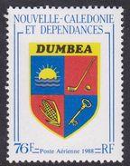 New Caledonia SG 822, 1987 Arms Of Dumbea, Mint Never Hinged - Nueva Caledonia