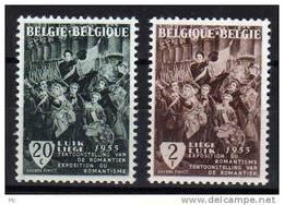 Belgique N° 971 / 972 Luxe ** - Belgien