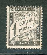 FRANCE ; Taxes ; 1881-92 ; Y&T N° 10 ; Lot N° ; Neuf Ttbe - Taxes