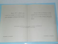 Mathilde BOTTU & Léon PEETERS - 6 Sept. 1930 - St. Amanduskerk ANTWERPEN ( Zie Foto's Voor Detail )! - Boda