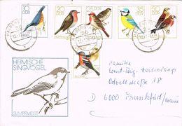 26338. Carta  HALBERSTADT (alemania DDR) 1979. Birds, Aves, Oiseaux - Sperlingsvögel & Singvögel