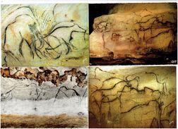 Lot 4 Cpm - Grotte De Pech Merle Cabrerets / Rouffignac - Chapelle Des Mammouths - Mammouth - Fine Arts