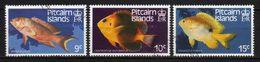 PITCAIRN ISLANDS - 1984 Scott# 234+235+236 USED PESCI - Pitcairn Islands
