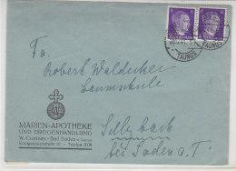 Brief Der Marien-Apotheke Aus BAD SODEN 20.12.41 - Lettres & Documents