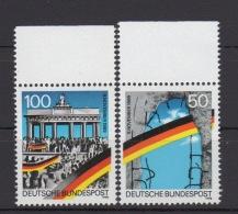 BRD  / 1. Jahrestag Der Öffnung Der Innerdeutschen Grenzen Und Der Berliner Mauer /  MiNr.:  1481 I, 1482 I - Unused Stamps