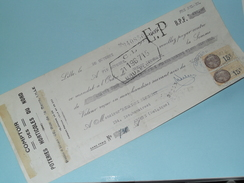 Comptoir Des Poteries Horticoles Du Nord - LILLE 7-10-1932 ( Zie Foto ) + Taxe ! - Wechsel