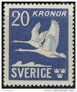 Sweden 1942. Michel #290-B MNH/Luxe. Swans. (B13) - Swans