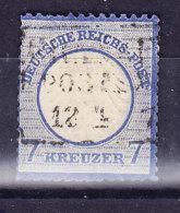ALLEMAGNE REICH,  Mi 10 Cancel,  Second Choix (7B949) - Deutschland