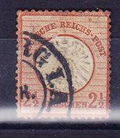 ALLEMAGNE REICH,  Mi 21 Cancel,   (7B958) - Deutschland