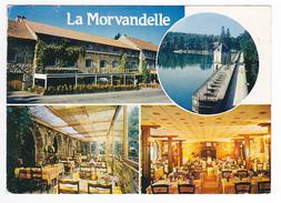 58 Lac Des Settons Hôtel Restaurant LA MORVANDELLE Chef De Cuisine J.J Payen En 1989 - Montsauche Les Settons