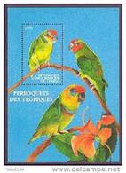 CONGO   1541  MINT NEVER HINGED SOUVENIR SHEET OF BIRDS  ; PARROTS - Vögel