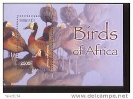 BURUNDI   772  MINT NEVER HINGED SOUVENIR SHEET OF BIRDS   #  0156-2  ( - Unclassified