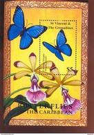ST.VINCENT  2925  MINT NEVER HINGED SOUVENIR SHEET OF BUTTERFLIES  #  729-4  ( - Butterflies