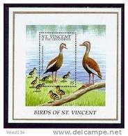 ST.VINCENT   2291  MINT NEVER HINGED SOUVENIR SHEET OF BIRDS   #  1154-3   ( - Birds