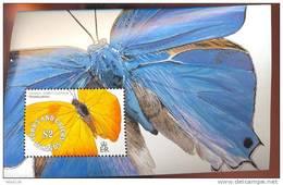 TURKS & CAICOS  ISLANDS  902  MINT NEVER HINGED SOUVENIR SHEET OF BUTTERFLIES - Papillons