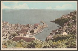 Looe From The Downs, Cornwall, 1957 - Postcard - England