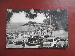 CPA PHOTO 85 NOIRMOUTIER EN L'ILE PLAGE DES DAMES VOITURES ANCIENNES DS 2CV .. - Noirmoutier