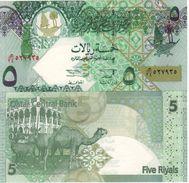 QATAR  5 Riyals    P21   (ND  2003)     UNC - Qatar