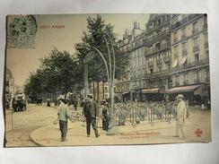 CPA6 - Carte Postale Ancienne CPA - Tout Paris Station Métropolitaine Clichy - Francia