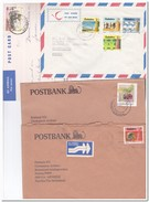 Zimbabwe, 1 Cart + 3 Envelopes - Zimbabwe (1980-...)