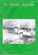LA REVUE AVICOLE INFORMATIONS AVICOLES CUNICOLES ET COLOMBICOLES No 5 SEPTEMBRE - OCTOBRE 1989 - Animaux