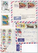 Zaïre, 4 Envelopes - Zaïre