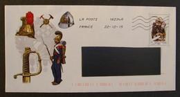 PAP ENTIER POSTAL POMPIERS DE PARIS - PAP : Altri (1995-...)