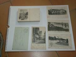 191117 Dep. 37 Indre Et Loire (beaucoup De Tours) / Lot De 50 CPA Dos Non Divisé (avant 1904) - Cartes Postales