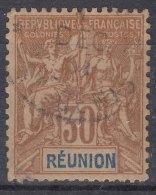 Reunion 1892 Yvert#40 Used - Oblitérés