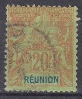 Reunion 1892 Yvert#38 Used - Oblitérés
