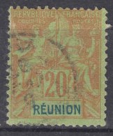 Reunion 1892 Yvert#38 Used - Réunion (1852-1975)