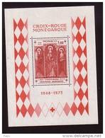 MONACO-1973-BLOC N°7** CROIX ROUGE.SAINTE DEVOTE - Blocs