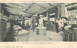 86 Chatellerault Interieur Des Magasins De Nouveautés Dion Labit - Chatellerault