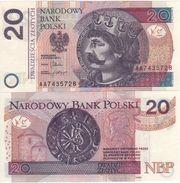 """POLAND  New  20 Zlotych   P184  """"2012""""    UNC - Polen"""