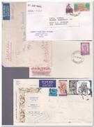 India, 10 Envelopes - Omslagen