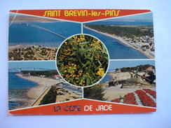D 44 - Saint Brevin Les Pins - Le Pont Sur La Loire Et Les Plages - Saint-Brevin-les-Pins