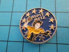 Pin513e Pin's Pins / Rare Et De Belle Qualité !! SPORTS / ASPTT METZ HAND-BALL - Handball