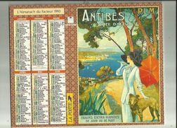 Calendrier Des Postes G-F  1993  De Saone Et Loire 71_ - Big : 1991-00