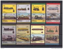Bequia Trains MNH (T774) - Eisenbahnen