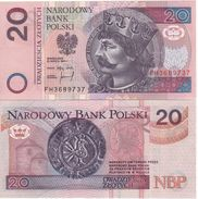 "POLAND   20 Zlotych   P174   ""1994""    UNC - Pologne"