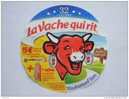 Etiquette Fromage LA VACHE QUI RIT - 15€ + 1 Cabas - 32 Portions - Réf 76020245S - Quesos