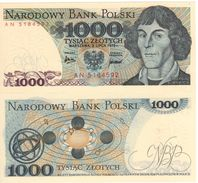 "POLAND   1'000 Zlotych   P146a   ""1975""    UNC - Polonia"