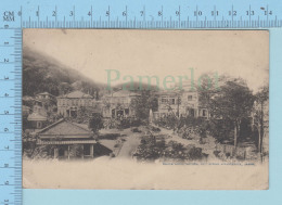 Miyanoshita Japan -  CPA Fujiyta Hotel, Hot Spring, Cover Yokohama 1919, Send To Hong Kong China + Stamp - Non Classés