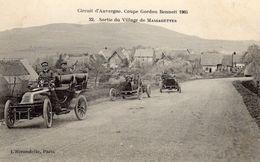 Circuit D'Auvergne - Coupe Gordon Bennett 1905 - Sortie Du Village De Massagettes  - CPA - Autres